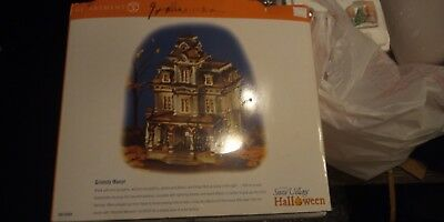 Dept 56 Grimsly Manor  Haunted Mansion FLAWED READ SNOW VILLAGE
