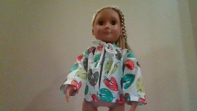 New Generation Doll Clothes Coloring Paint Smock Jacket Fits American Girl