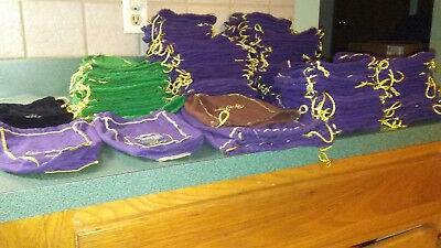 Lot Of 133 Various Sized Crown Royal Bags Brickyard 400 Toast Of The Crown