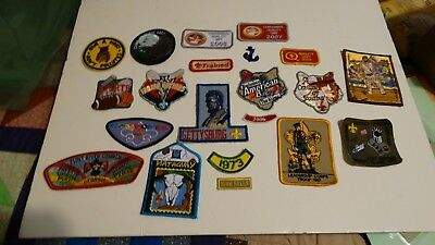 Lot Of 21 Boy Scout Patches Mostly New,no Duplicates (Lot Tt)