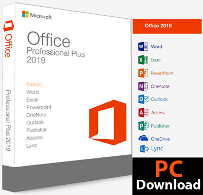 10 Pc Ms Office 2019 Pro 32 64Bit Genuine License Key Business World Uk Usa