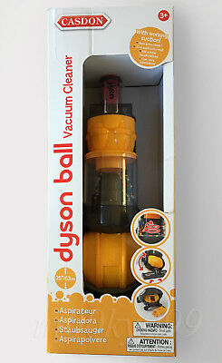 Casdon Toys Dyson DC24 Ball Vacuum Cleaner Kids Toy Brand New in Box Grey Yellow