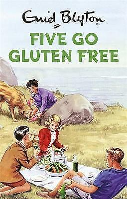 Five Go Gluten Free (Enid Blyton for Grown Ups), Vincent, Bruno, Very Good Book