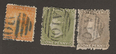 St. Vincent Scott# 24-26 Used All w/ A10 Cancel