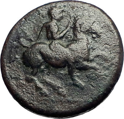 Krannon in Thessaly 400BC Very Rare  Ancient Greek Coin Horse Hydria  i74116