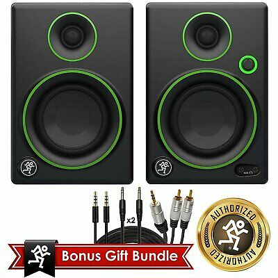 """Mackie CR Series CR3 - 3"""" Creative Reference Multimedia Monitors (Pair) Bundle A"""