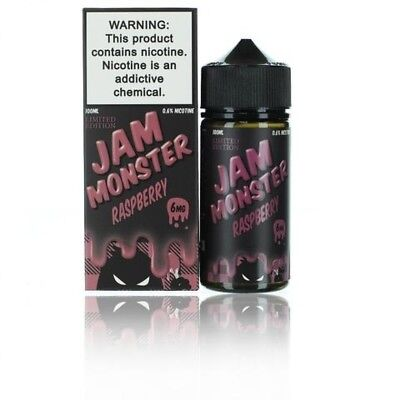 Jam Monster Liquid 100ML All Flavors 100% Authentic FREE SHIPPING From TX