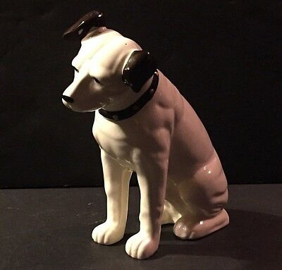 RCA VICTOR PHONOGRAPH NIPPER DOG ADVERTISING FIGURINE STATUE His Masters Voice