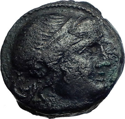Mesembria in Thrace 300BC Authentic Ancient Greek Coin ATHENA Minerva i74121