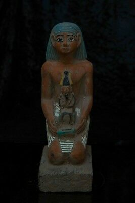 ANCIENT EGYPTIAN STATUE ANTIQUES Horemheb Osiris Gods Sculpture 6000-3150 BC