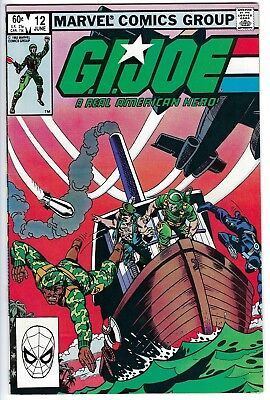 G.I. Joe: A Real American Hero #12 - First Print! - (Marvel 1983) - VF/NM!