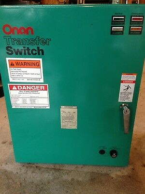 Onan Cummins OTCU 70C 18G Automatic transfer switch for generator