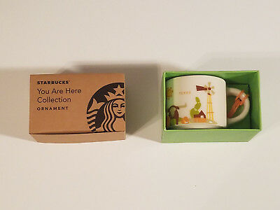 Starbucks You are Here Texas Ornament 2oz