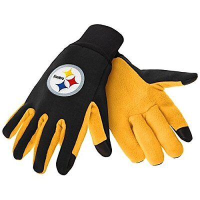 Pittsburgh Steelers Nfl Texting Technology Gloves Free Shipping