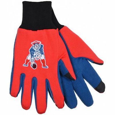 New England Patriots Retro Logo Nfl Texting Technology Gloves Free Shipping