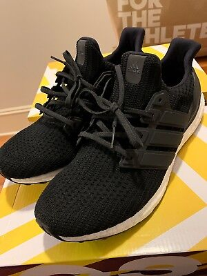 3b423b329840e5  BB6166  Mens ADIDAS UltraBoost Ultra Boost 4.0 Running Sneaker Black White