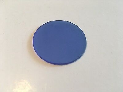 Microscope 32mm Frosted Blue Color Filter for Compound Microscope
