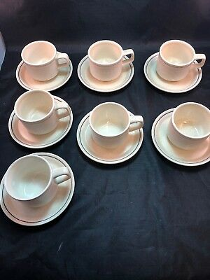 Lenox Silhouette Temperware Coffee/Tea Cup And Saucer USA (7 available) EUC