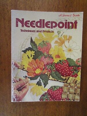 Needlepoint Techniques & Projects From Sunset Books