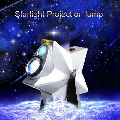 LASER TWILIGHT Laser Stars Projector Party Light Show LED Galaxy Night Effect L2