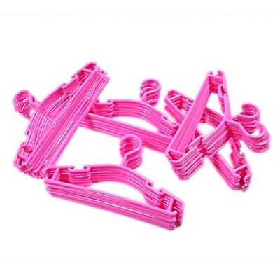 Pink color Set of 50 Pieces Hangers for baby and child in plastic Durable P U8F5