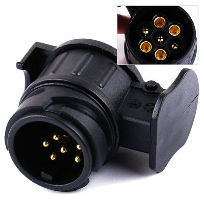 Car Trailer Truck 13 Pin to 7Pin Plug Adapter Converter Tow Bar Socket Connector