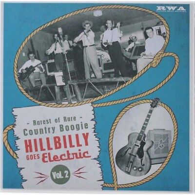 10 INCH 25 CM Hillbilly Goes Electric Volume 2 - Rarest of Rare Country Boogie