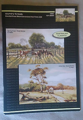 Australian Classics cross stitch chart - Spring Frost and A Hot Day