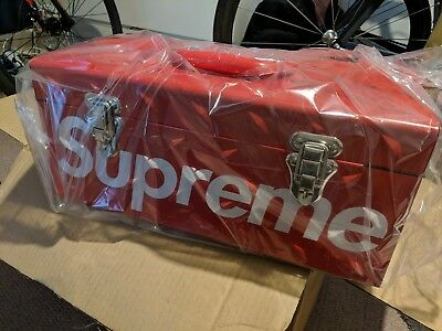 Supreme Red Tool Box Accessories brand new in all original packing