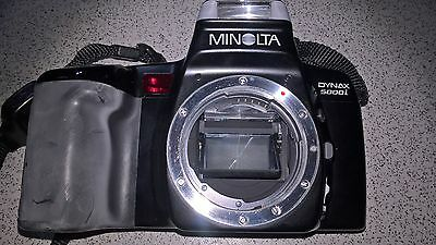 Konica Minolta Dynax 5000i SLR Film Camera Body Only