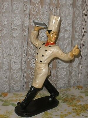 SHOP DISPLAY CHEF FIGURINE Counter Promotion CHEF Figure