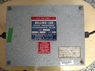 Belling - Lee Radio Frequency Interface Filter