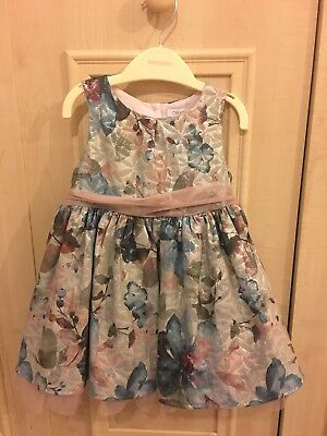 Girls Party Prom Dress Age 12-18 months NEXT Worn Once RRP £28