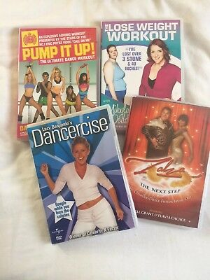 Collection of 4 Exercise DVDs