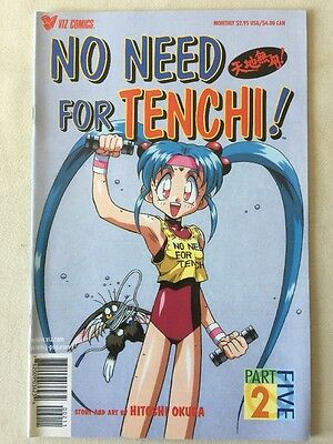 NO NEED FOR TENCHI! Part 5, Issue 2, Viz Comics MANGA 2001 JAPAN ANIME COMIC