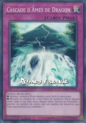 Yu-Gi-Oh ! Cascade d'Ames de Dragon MP18-FR024 (MP18-EN024) VF/SUPER