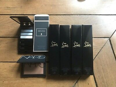 Lot Maquillage Serge Lutens, Louboutin, Nars 6 Pieces Valeur 370€