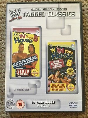 WWE Tagged Classics - In Your House 5 & 6 DVD RARE WWF