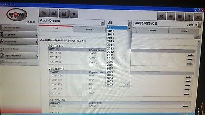 WoW Wurth Software 5.00.12 English Complete 2018+key+Video