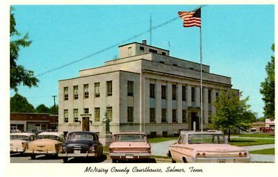 McNairy County Courthouse, Selmer, TN Postcard