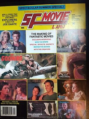 Sf Movie Land Magazine #33 Sept 85 Back To The Future