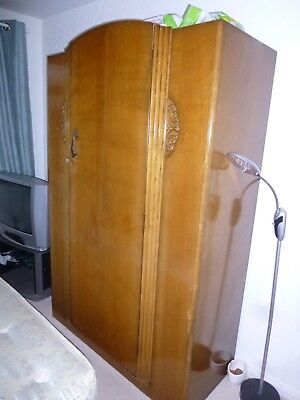 Antique wardrobe and Dressing Table  With drawers from the 1950/1960