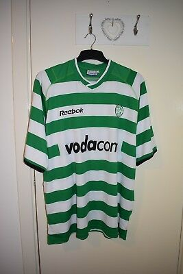 Glasgow Celtic Football Club  Top XXL New Green & White Hoops Reebok