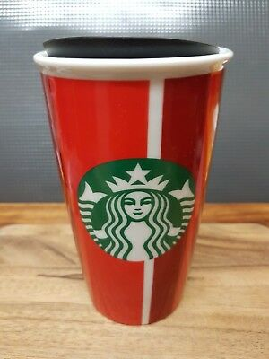 Starbucks 2018 Limited Edition Holiday Christmas 12 oz Ceramic Tumbler 355ml