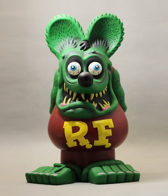 """13.8'' Rat Fink Action Figure Ed """"Big Daddy"""" Roth by Funko / RP $119"""