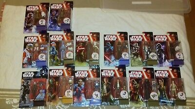 Hasbro Star Wars The Force Awakens - 14 Figuren  MOC  SUPER SCHNÄPPCHEN