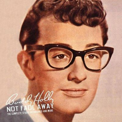 Buddy Holly - Not Fade Away,Complete Recordings + More, Lim.6 CD Box,Bear Family