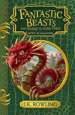 Fantastic Beasts and Where to Find Them by J. K. Rowling NEW Paperback Book