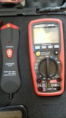 Test mate ADM 100 Automotive Multimeter / Amp clamp / Heat laser