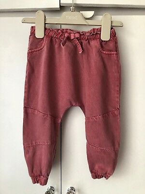 Next Girls Leggings/Trousers 9-12 Months